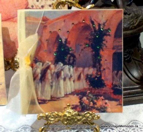 1st Communion Photo Album for girl
