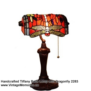 Tiffany Bank Lamp