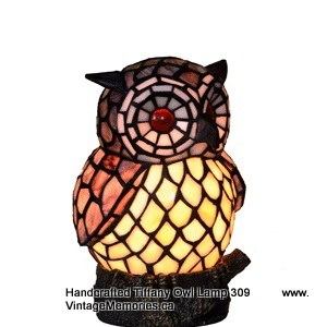 Owl tiffany lamp
