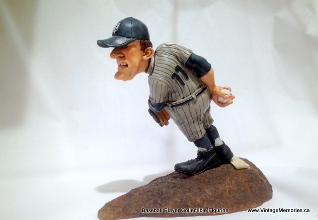 Baseball Player Collectible Figurine