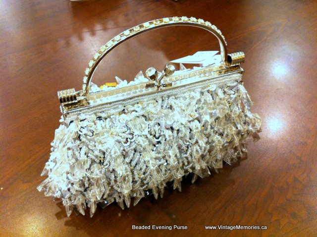Beaded Wedding Clutch Bag