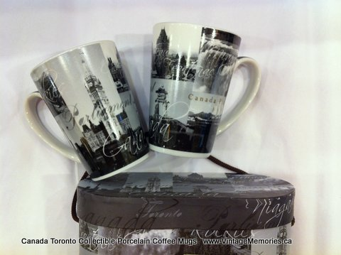 Canada Toronto Collectible Porcelain Coffee Mugs