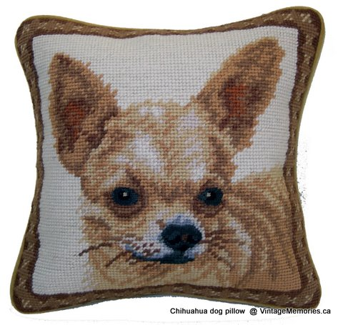 Chihuahua dog pillow