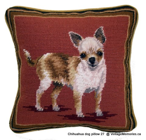 Chihuahua dog pillow 27