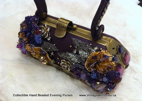 Collectible Hand Beaded Evening Purses-2