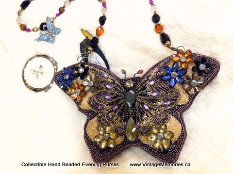 Collectible Hand Beaded Evening Purses