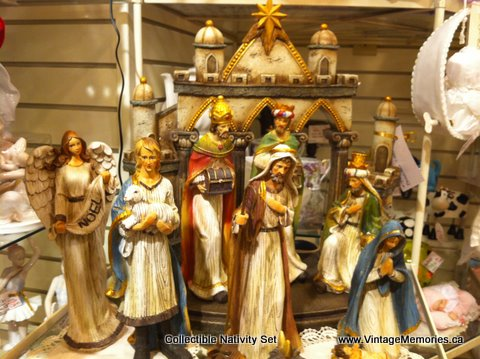 Collectible Nativity Set