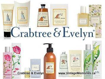 Crabtree Evelyn Vintage Memories