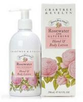 Crabtree & Evelyn Rosewater Body Lotion 250