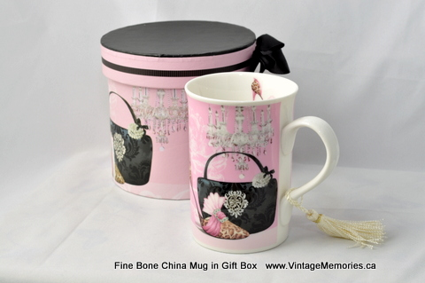 Fine Bone China Mug in Gift Box