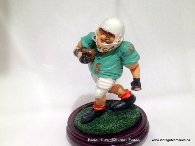 Football Player Collectible Figurine