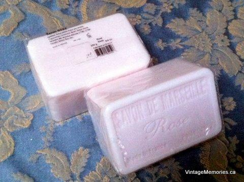 France Savon DE MARSEILLE SOAP ROSE