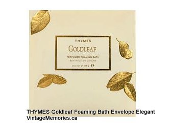 Goldleaf Bath Powder Envelope