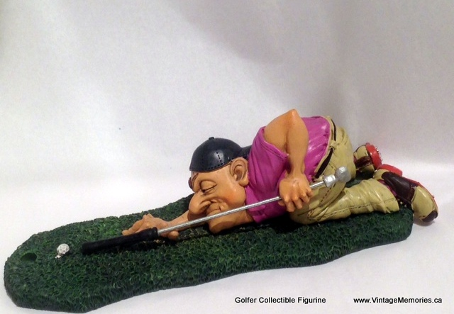 Golfer Collectible Figurine