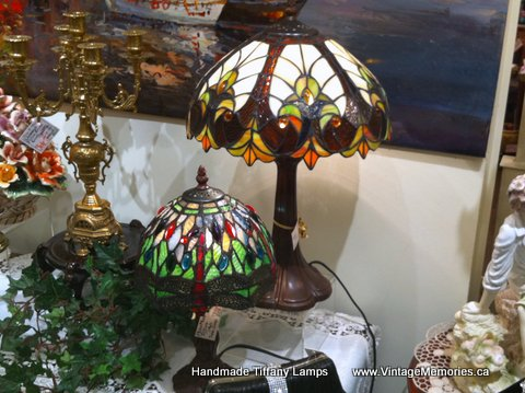 Handmade Tiffany Lamps