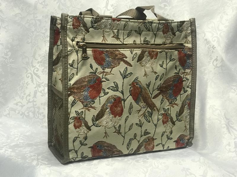bag with birds