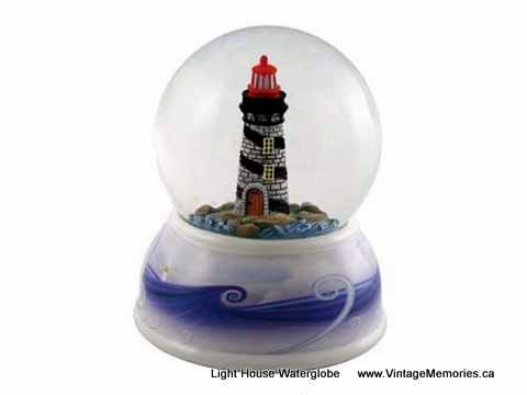 Light House Waterglobe