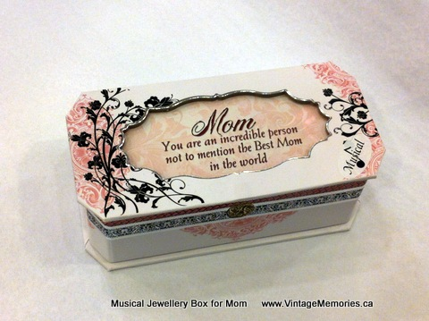 Musical Jewellery Box for Mom