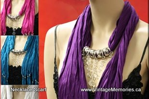 NECKLACE SCARF PICTURES