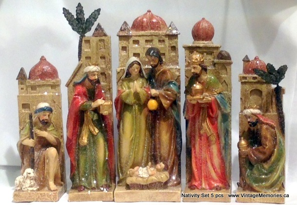 Nativity Set 5 pcs