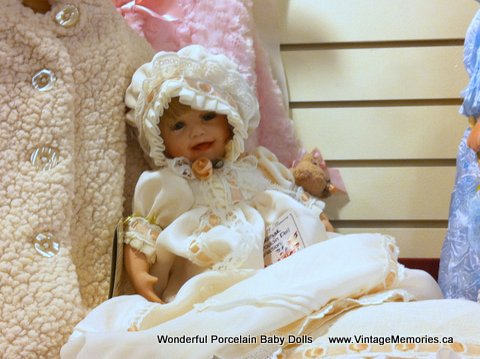 Porcelain Baby Doll