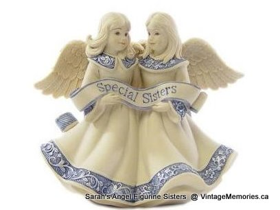 Sarah's Angel Figurine special sisters