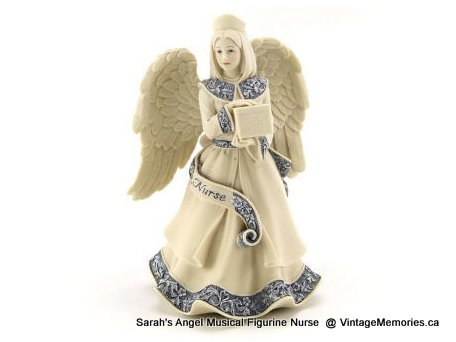 Sarah's Angel Musical Figurine Nurse