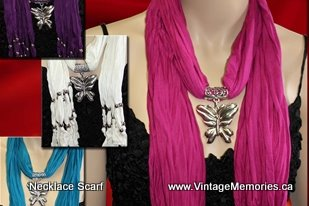 Scarf Necklace-1