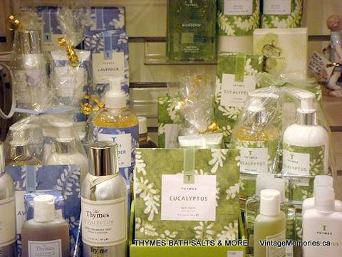 THYMES BATH SALTS and MORE