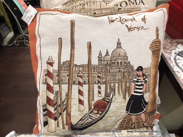Taperstry Cushion Covers with Venice