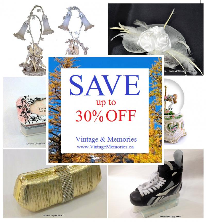 Vintage Memories 2014 Nov promotion