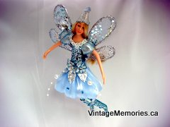 Xmas fairy ornament