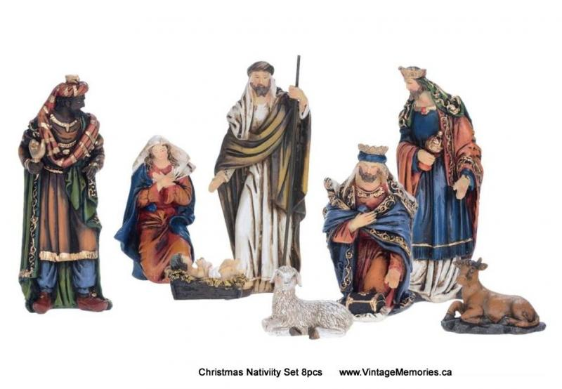Christmas Nativiity Set 8pcs