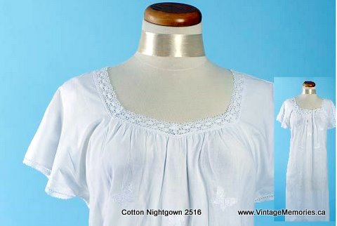 cotton nightgown 2516