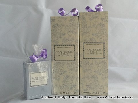 crabtree & Evelyn Nantucket Briar.