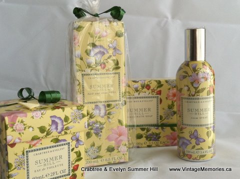 crabtree & Evelyn Summer Hill.