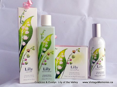crabtree & Evelyn lily of the valley