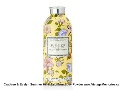 Summer Hill Talc-Free Body Powder