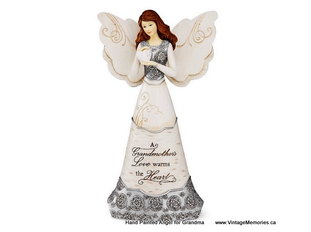 Handpainted angels