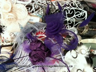 Wonderful hair fascinators