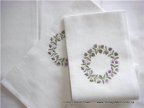 hand_towel_Floral_Wreath