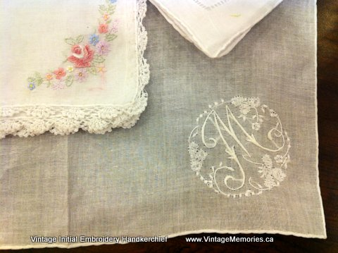 hankies with initial