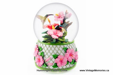 hummingbird water globe 2011