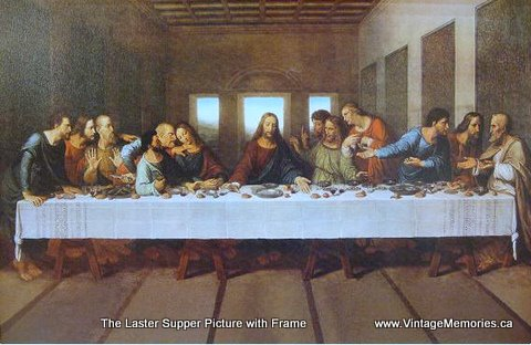 last supper pictures