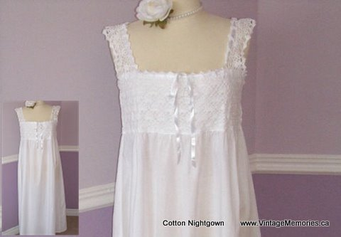 nightgown-3 vintageMemories.ca