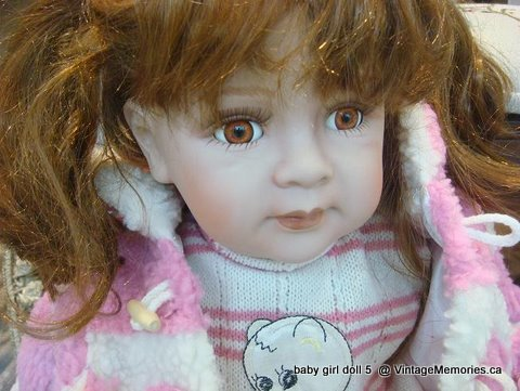 porcelain baby girl doll 5