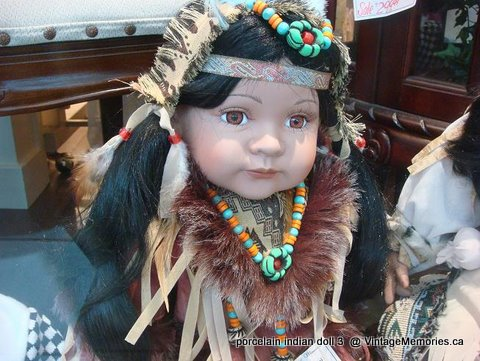 porcelain indian doll 3