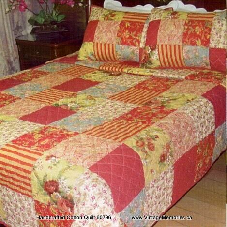 Handcrafted Cotton Quilt 60796