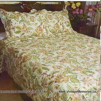 Handcrafted Cotton Quilt 60819