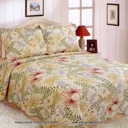 Handcrafted Cotton Quilt 60867